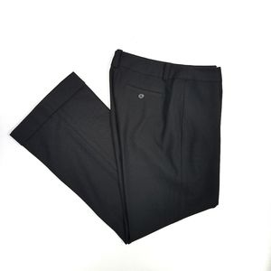 CITY DKNY Plaza Pant Black Slacks Trousers 4Petite